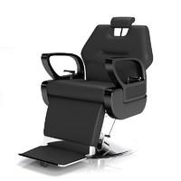 3d fbx president barber chair
