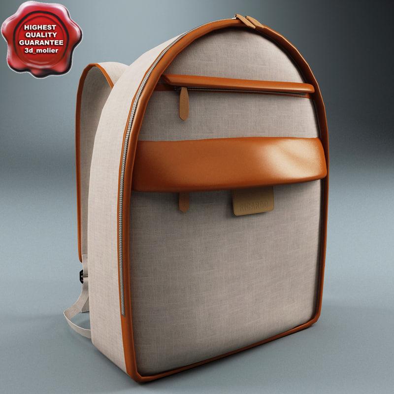 backpack ricardo 3ds