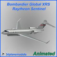 Bombardier Global XRS Raytheon Sentinel RAF
