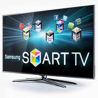 samsung smart tv d8000 3d c4d