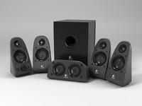 Logitech Surround Sound speakers Z 506 Acoustic System