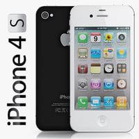 copy iphone 4s 3d model