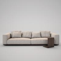 realistic flexform sofa grande max