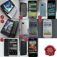 cellphones 59 3d model