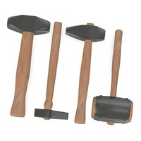3d model smithy hammers