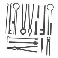 3d model blacksmith tools