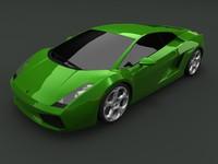Lamborghini Gallardo (no interior version)