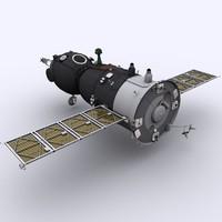 Spaceship Soyuz TMA