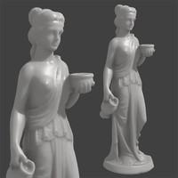 3d model scan woman