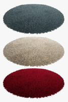 fluffy rugs max