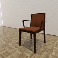 3d rio chair model