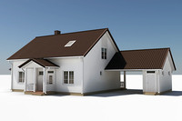 Textured Single Family House 13