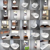 altamarea - design washbasin 3d model