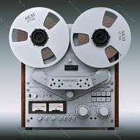 Reel tape recorder Akai GX-635D