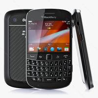 copy blackberry bold 9900 3d max