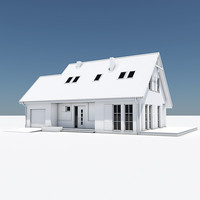House with Attached Garage 12