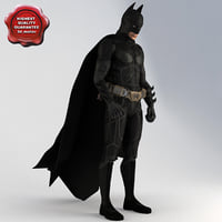batman pose3 3d 3ds