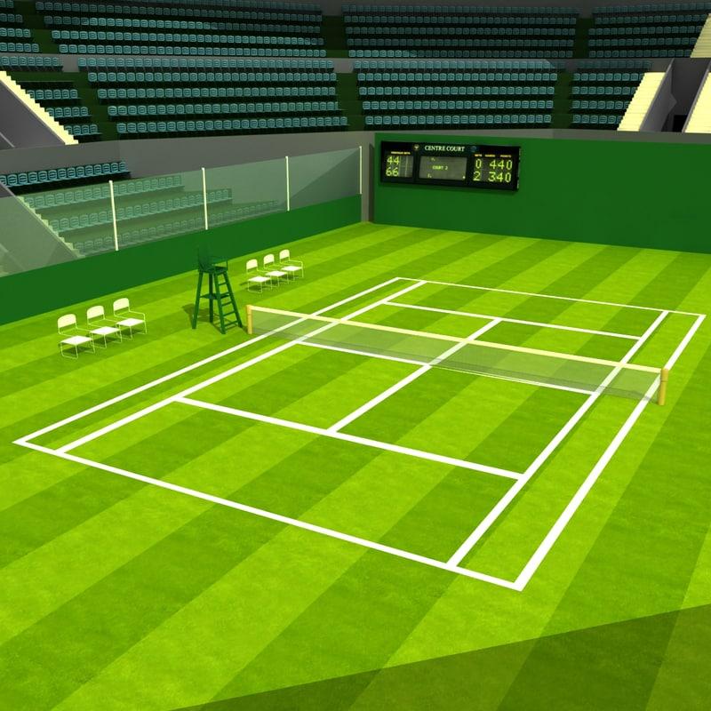 Tennisracket stadium