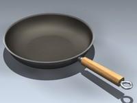 3d model frying pan