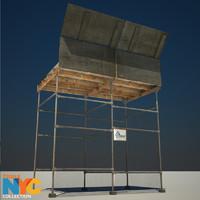 construction scaffolding studios max