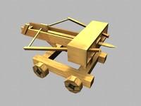 small catapult roman ballista