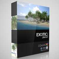 CGAxis Models Volume 15 Exotic Plants