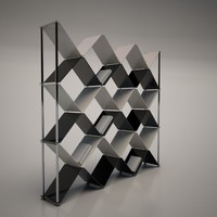 3ds max cattelan italia boxter bookcase