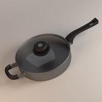 cooking pan 3d model