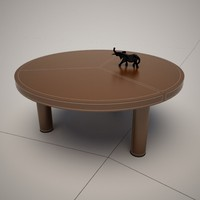 king dining table italia 3d 3ds