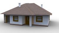 free house anim8or an8 3d model