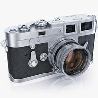 Retro photo camera Leica M3