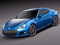 subaru brz 2013 sport coupe 3ds