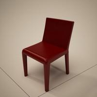 cattelan italia livia dining chair 3d fbx