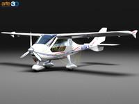flight design ctls lighting 3d max