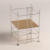 3ds max scaffolding