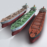 ships contains 3d model