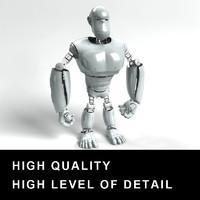 robot monkey 3d model