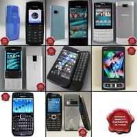 3d model nokia phones v7