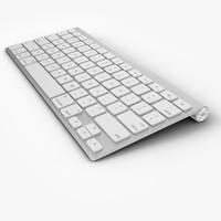3dsmax apple wireless keyboard