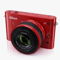 3ds max advanced camera nikon 1