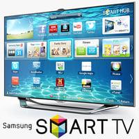 3d samsung smart tv es8000