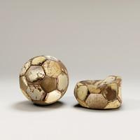 free old balls 3d model