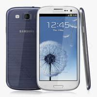 3d model samsung galaxy s iii