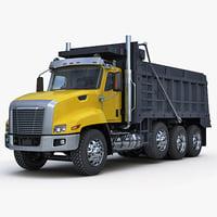 3d truck tipper model