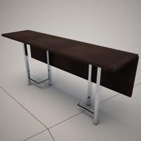 3d cattelan italia extending table