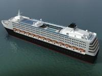 Mega Cruise Ship