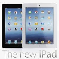3d model new ipad 2012