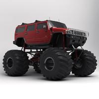 Hummer Monster Truck