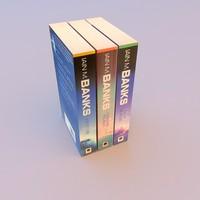 scifi novel 3d model