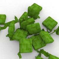 ketupat dumpling packed 3ds